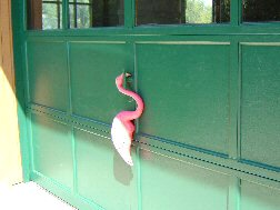 Flamingo from the Garage